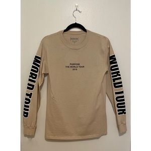 Justin Bieber Purpose World Tour Long Sleeve Top